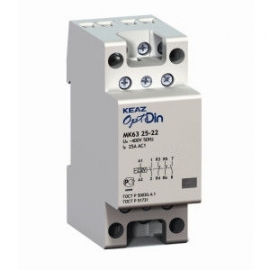 Контактор модульный OptiDin МК63-4004-230AC