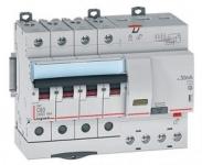 Дифференциальный автомат DX3 B10A 4П 300mA-A Legrand 411228
