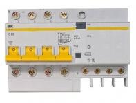 Дифференциальный автомат АД14 4Р 63А 100мА ИЭК MAD10-4-063-C-100
