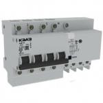Дифференциальный автомат АД14-44C25-АC-УХЛ4-КЭАЗ (4P, C25, 300mA)