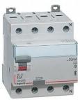 Устройство защитного отключения УЗО DX3 4П 80А AC 100мА N Legrand 411715