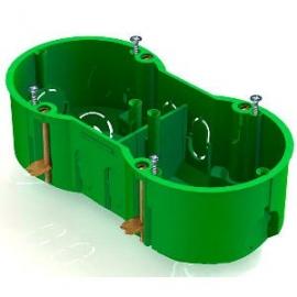Коробка КМ40023 уст. 2 мест d141х70x45 для пол. ст. (с сам) ИЭК UKG20-141-070-045-M