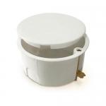 Коробка КМ41024 распаячная d80х40мм для полых стен (металлические лапки, с крышкой ) ИЭК UKG01-080-040-000-M