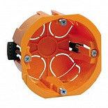 Коробка КМ41025 расп. d80х40мм для полых стен (пласт. лапки) ИЭК UKG01-080-040-000-P