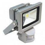 Прожектор СДО01-10Д (детектор) светодиодный серый чип IP44 ИЭК LPDO102-10-K03