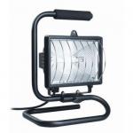 Прожектор ИО500П (переноска) галогенный черный IP54 ИЭК LPI03-1-0500-K02