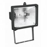 Прожектор ИО500 галогенный черный IP54 ИЭК LPI01-1-0500-K02