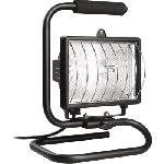Прожектор ИО150П (переноска) галогенный черный IP54 ИЭК LPI03-1-0150-K02