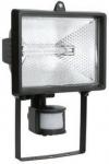Прожектор ИО150Д (детектор) галогенный черный IP54 ИЭК LPI02-1-0150-K02