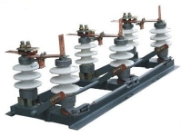 Разъединитель РЛНД-1-10Б/630 УХЛ1 (3-х полюс.) на стеклянных изоляторах