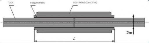 Зажим соединительный СС-26,6-11