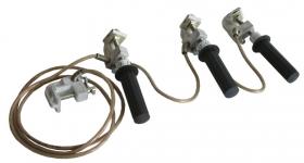 Переносное заземление ПЗТ-750-1150