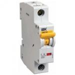 Автоматический выключатель ВА 47-60 4Р 6А 6 кА характеристика D ИЭК MVA41-4-006-D