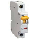 Автоматический выключатель ВА 47-60 4Р 25А 6 кА характеристика D ИЭК MVA41-4-025-D