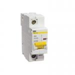 Автоматический выключатель ВА 47-100 4Р 25А 10 кА характеристика С ИЭК MVA40-4-025-C