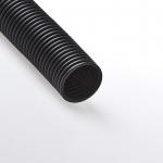 Труба гофрированная ПНД с зондом D63мм-черный-КЭАЗ