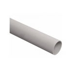 Труба гладкая жесткая ПВХ d50 белая, 3м ИЭК CTR10-050-K01-015I