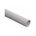 Труба гладкая жесткая ПВХ d63 серая, 3м-C ИЭК CTR10-063-K41-015I-C