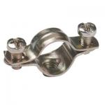 Скоба металлическая двухлапковая  d12-13мм ИЭК CMA11-12-100