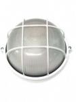 Светильник НПП1108 белый/круг решетка крупная  100Вт IP54  ИЭК LNPP0-1108-1-100-K01