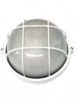 Светильник НПП1107 белый/круг ресничка 100Вт IP54  ИЭК LNPP0-1107-1-100-K01