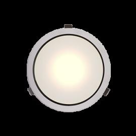 Светильник общественно - бытовой ДВО 01-22-хх-Д 22 Вт, 2000 лм, IP 20 хх - цветовая температура 50 - 5000К, 40 - 4000К D220х82, 1,3 кг