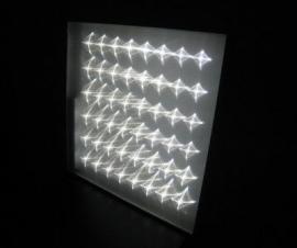 Светильник офисный ССВ-23/2300/Ахх 23 Вт, 2300 лм,  хх - цветовая температура: 50 - 5000К, 40 - 4000К 595х595х40, мм, 3,5 кг